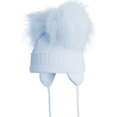 satila-double-pompom-hat-blue