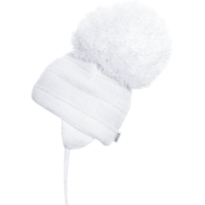 Satila Tuva Giant White Pom Hat