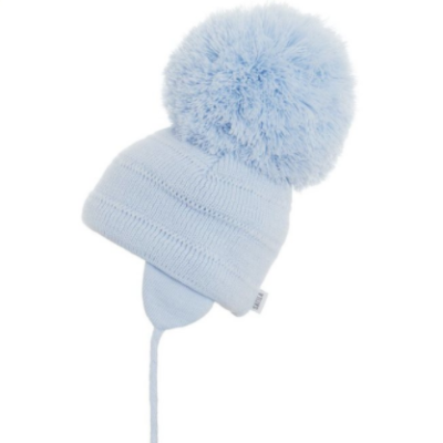 Satila Tuva Giant Blue Pom Hat