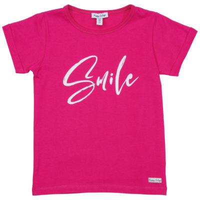 HAPPY CALEGI GLITTER SMILE T-SHIRT
