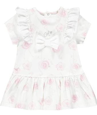Little A Jane Flamingo Print Dress