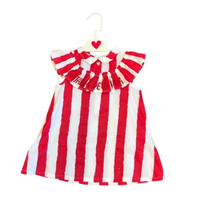 Agatha Candy Stripe Dress