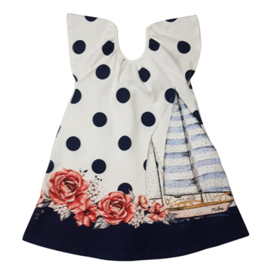 Milon Navy Yacht Dress