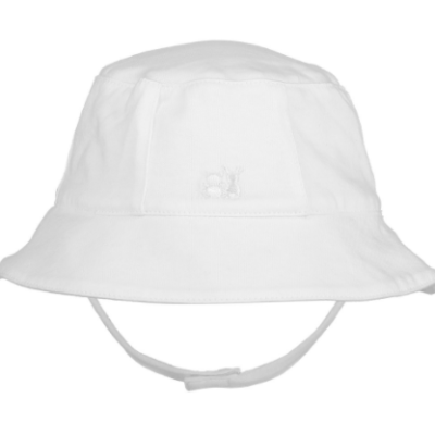 Emile Et Rose Garath Fishermans Hat White