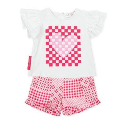 Agatha Ruiz De La Prada Heart t-Shirt & Shorts