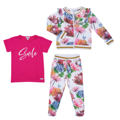 Happy Calegi Olivia Rose Tracksuit & T-Shirt