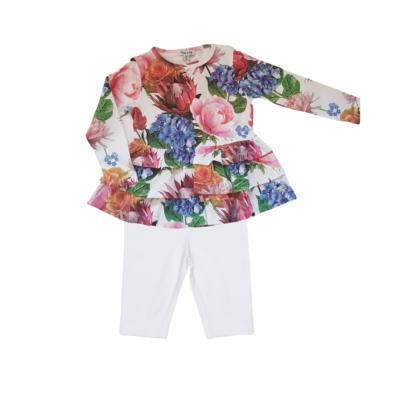 Happy Calegi Olivia Flower Top & Leggings