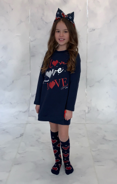 ADEE KNITTED LOVE REGINA LOVE JUMPER DRESS