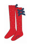 ADEE KNITTED LOVE RED SOCKS