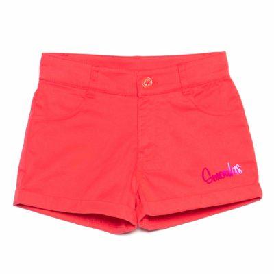 rosalita logo shorts red WEEKSBORO_SHORTS_UNICO_2_PLANO