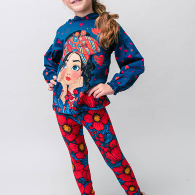 BOUNDARY TUNIC TOP AND LEGGINGS