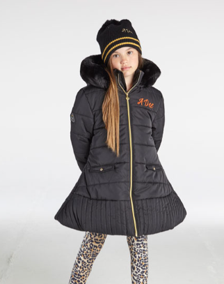 ADEE WILD ABOUT BIG CATS TAYLOR COAT